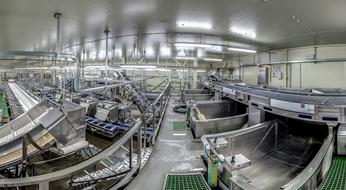 Завод «Народы Севера» (2014 г.) стал одним из первых универсальных производств, рассчитанных на переработку в едином потоке почти всех промысловых объектов Дальневосточного бассейна